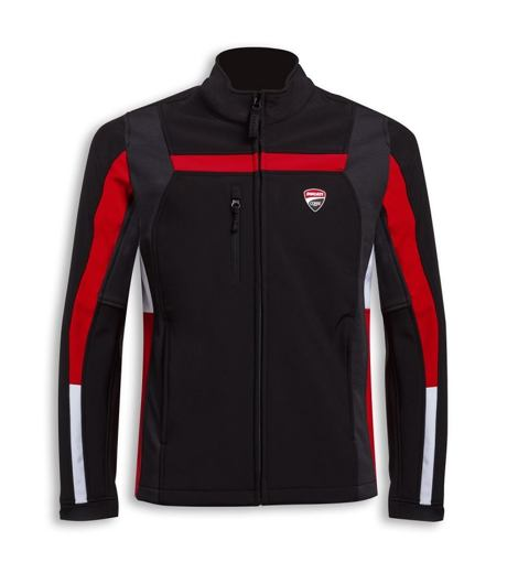 Softshellová bunda Ducati Corse Windproof 3